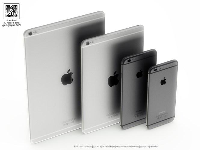 Ngắm concept tuyệt đẹp của iPad Air 2 với camera lồi