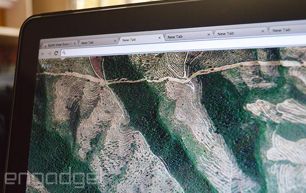 Xem ảnh chụp từ vệ tinh qua các tab mới của Chrome
