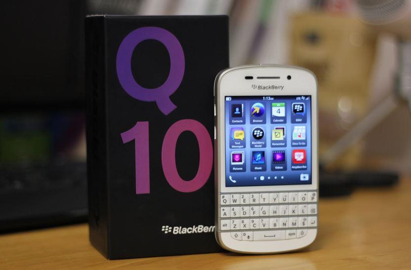 BlackBerry Q10 tại Việt Nam tiếp tục giảm giá mạnh?