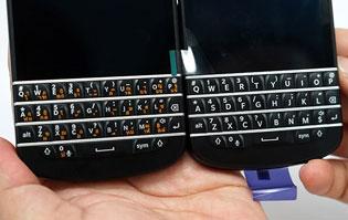 BlackBerry Q10 giá 5 triệu đồng là phiên bản Thái Lan, bàn phím tiếng Thái
