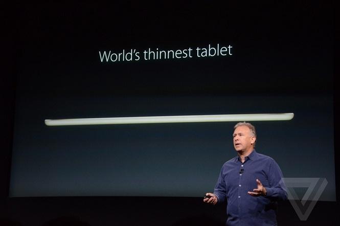 Apple chính thức trình làng iPad Air 2 với cảm biến vân tay