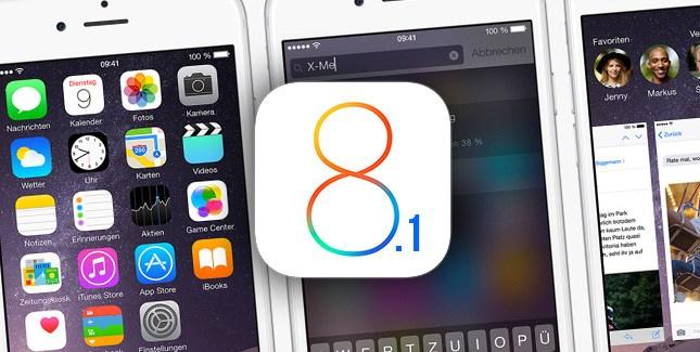 Apple vừa chính thức công bố iOS 8.1
