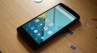 Chế độ bật sáng màn hình xuất hiện trên Android Lollipop