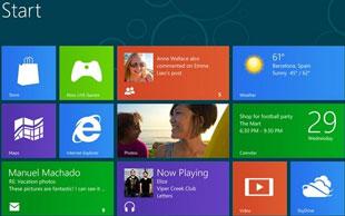 Loạt máy tính bảng Windows 8 đầu tiên có từ tháng 10