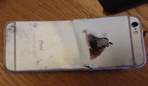 iPhone 6 đầu tiên bốc cháy, người dùng bỏng nặng