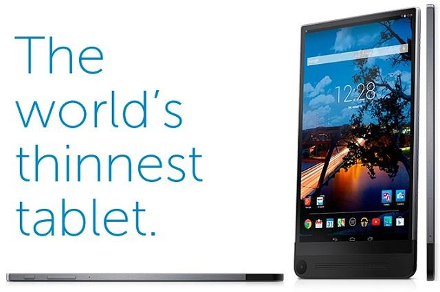 Dell chuẩn bị ra mắt tablet mỏng nhất thế giới Venue 8 7000