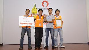 Trao giải 100 triệu đồng cho quán quân cuộc thi WhiteHat Grand Prix 2014