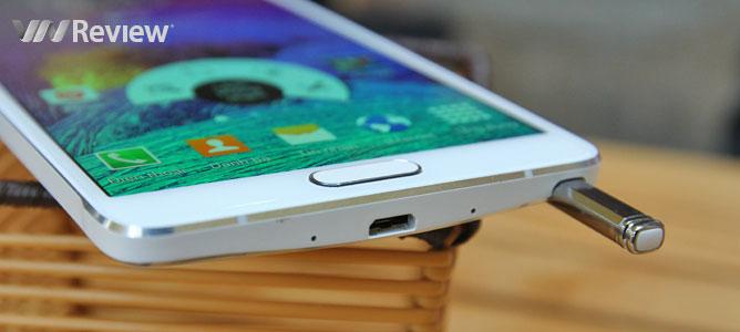 Đánh giá Samsung Galaxy Note 4 chính hãng