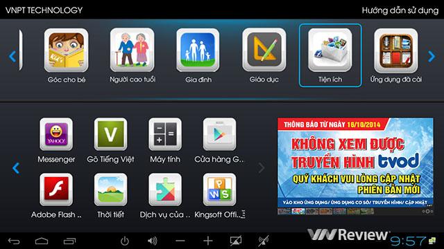 Đánh giá đầu phát VNPT Smart Box