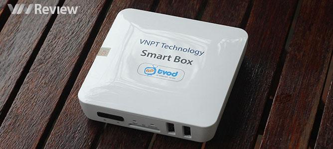 Đánh giá đầu phát Smart Box của VNPT Technology