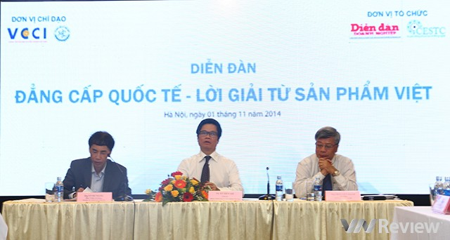 Diễn đàn Đẳng cấp quốc tế và lời giải cho sản phẩm Việt