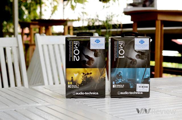 Đánh giá bộ đôi in-ear Audio Technica ATH-IM01 và ATH-IM02