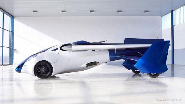 """Ô-tô bay Aeromobil 3.0 chính thức """"cất cánh"""""""