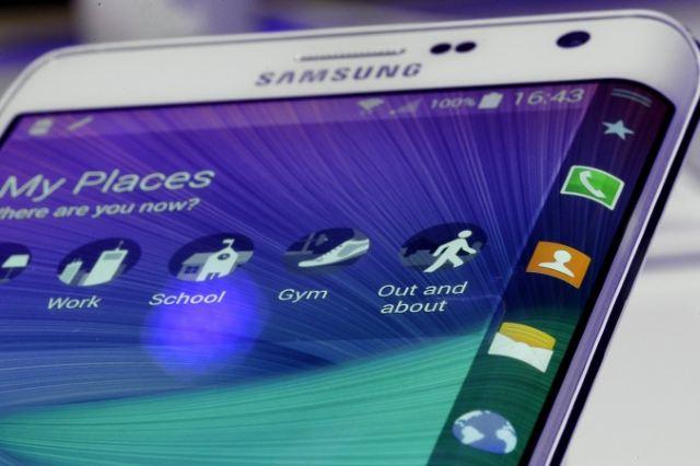 Samsung Galaxy S6 có màn hình cong ở cả hai cạnh?
