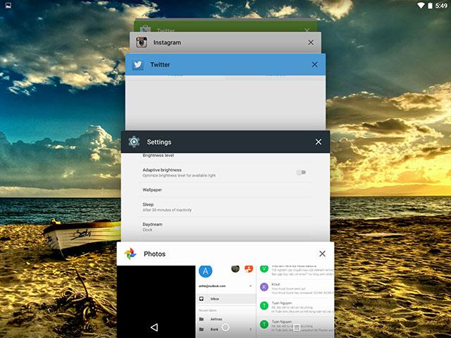 Đánh giá nhanh máy tính bảng Google Nexus 9