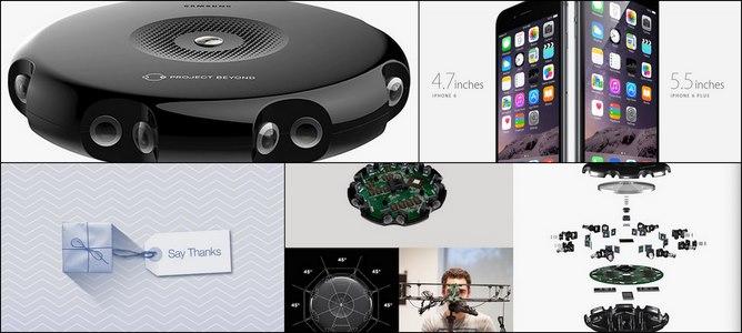Điểm nóng tuần qua: iPhone 6/6 Plus, Facebook Say Thanks, Samsung Flow