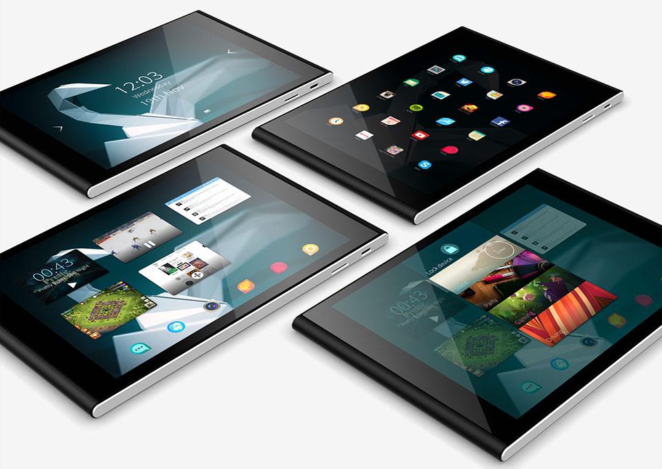 Jolla công bố máy tính bảng gây quỹ Jolla Tablet
