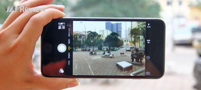 VnReview trải nghiệm iPhone 6 Plus dính lỗi camera nhòe, rung hình