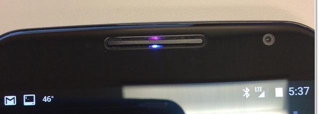 Phát hiện đèn LED thông báo ẩn trên Nexus 6