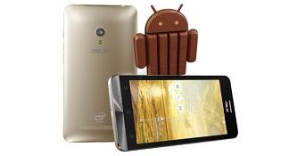 Đến lượt ZenFone 5 và ZenFone 6 cập nhật Android 4.4 KitKat