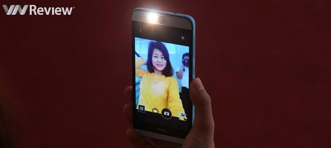 """Trải nghiệm """"camera chính 13MP phía trước"""" của HTC Desire Eye"""