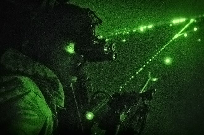 Máy bay quân sự Mỹ sẽ có cảm biến nhìn xuyên thời tiết