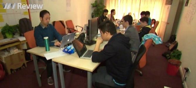 Jack Ma dùng chính nhà mình làm văn phòng cho nhân viên