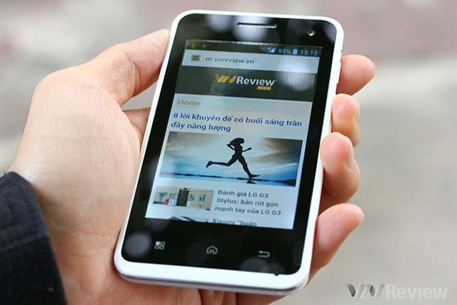Trên tay điện thoại VIVAS Lotus S2 Eco của VNPT
