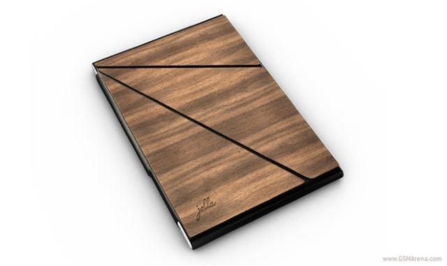 Jolla cung cấp vỏ bảo vệ bằng gỗ và da cao cấp đi kèm tablet