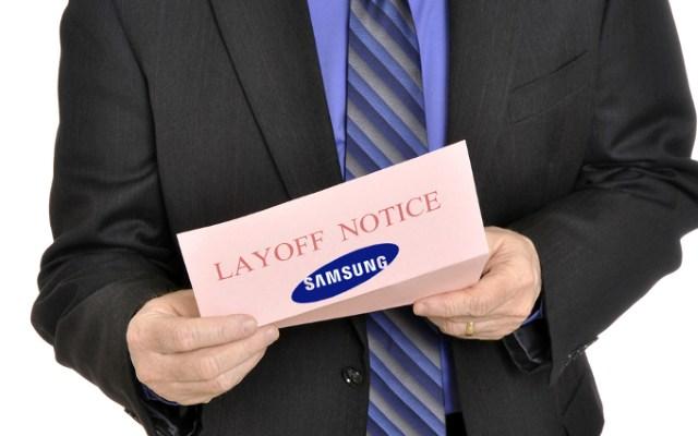 Samsung bắt đầu sa thải giám đốc điều hành và nhân viên bộ phận di động