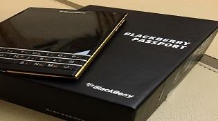 BlackBerry Passport có thêm phiên bản màu vàng?