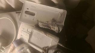 LG G3 phát nổ khi cắm sạc trên giường