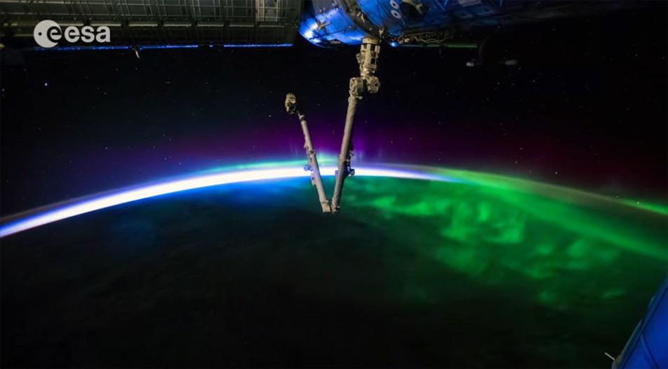 Video: Ánh sáng Trái đất trong vòng 6 năm từ trạm ISS