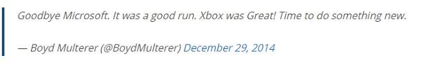 Cha đẻ của Xbox Live rời Microsoft sau 18 năm
