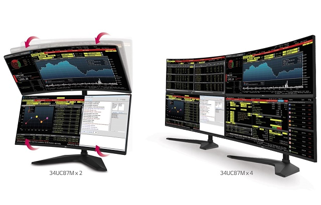 LG công bố màn hình cong dành cho game thủ