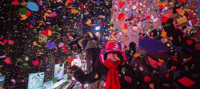 Những bức ảnh đặc sắc về không khí đón năm mới 2015