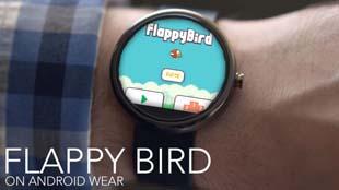 Xem Flappy Bird chạy mượt mà trên Moto 360