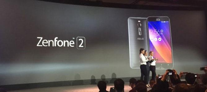 Asus ZenFone 2 trình làng: 5.5 inch Full-HD, RAM 4GB, camera 13/5MP, CPU Intel 64-bit