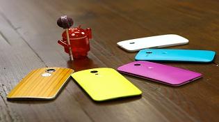Danh sách dế Motorola nhận cập nhật Android 5.0
