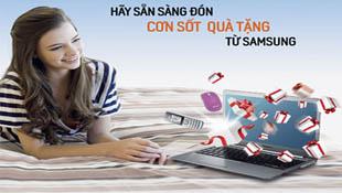 Samsung khuyến mãi các dòng sản phẩm IT