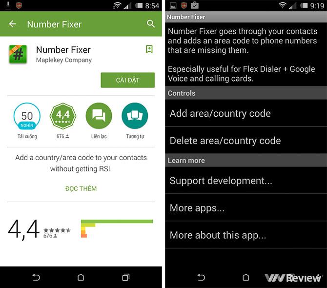 Hướng dẫn đổi mã vùng danh bạ trên iPhone, Android