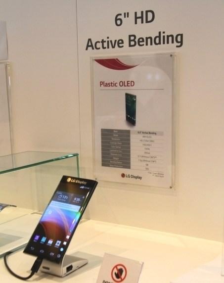 LG bí mật trình diễn smartphone màn hình cong ở hai cạnh tại CES