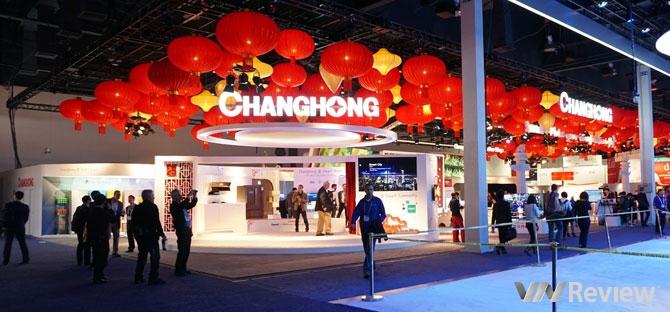 Gian hàng Trung Quốc tại CES 2015