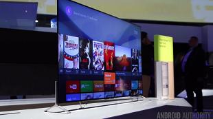 Cận cảnh TV Sony Bravia chạy Android TV, mỏng 4,9 mm