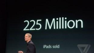 Apple tuyên bố đã bán được 225 triệu iPad