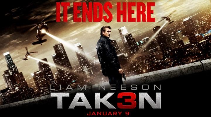 Đánh giá phim Taken 3: Đứng lên từ mất mát
