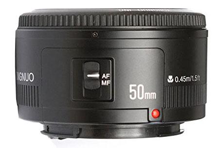 Rapid assessment of Yongnuo 50mm f / 1.8 lens
