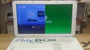 Cận cảnh PlayBox, laptop lai giữa Xbox One và PS4