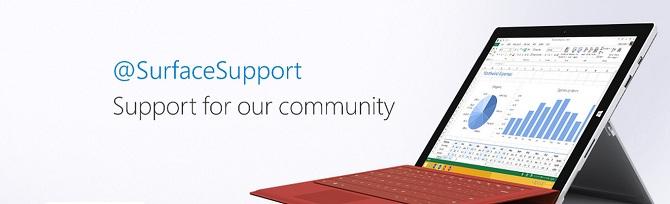 Microsoft tung tài khoản Twitter hỗ trợ giải quyết các vấn đề của Surface