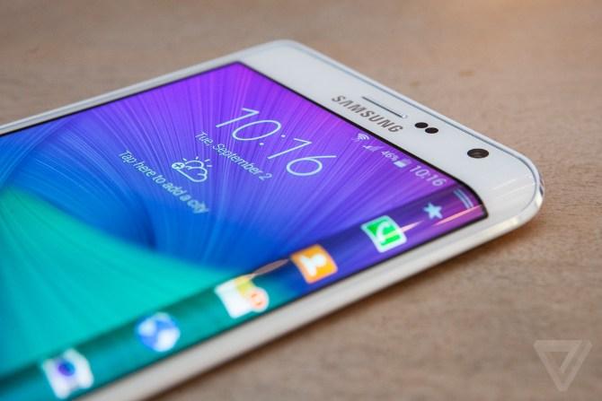 SamMobile xác nhận Samsung Galaxy S6 có biến thể màn hình cong ở hai cạnh